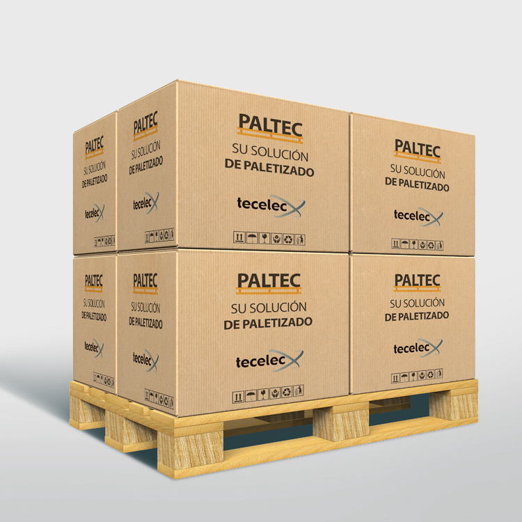 Cajas paletizado Paltec