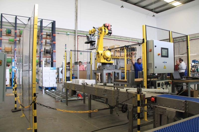 Integraciones industriales paletizado